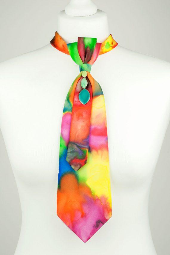 Rainbow Necktie