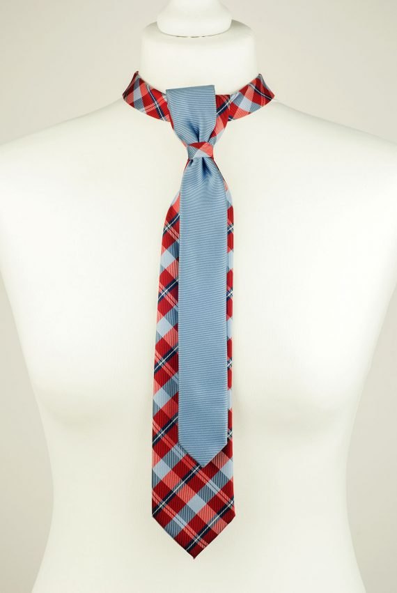 Pure Silk Double Necktie