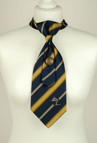 Pure Silk Striped Necktie