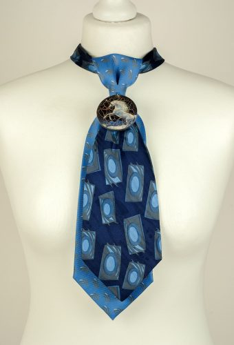 Pure Silk Double Necktie