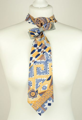 Abstract Print Bow Necktie