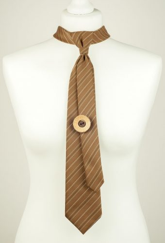 Cocoa Brown Necktie