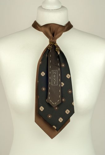 Brown Double Necktie