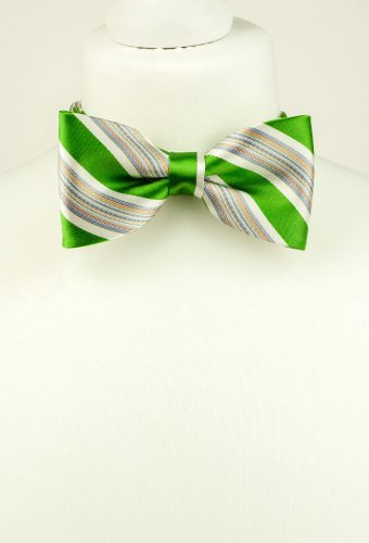 Bright Green Bow Tie