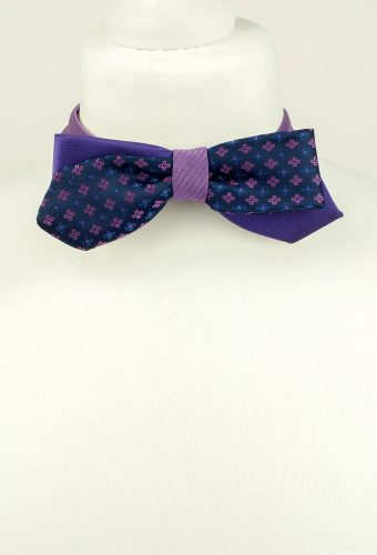 Abstract Floral Bow Tie
