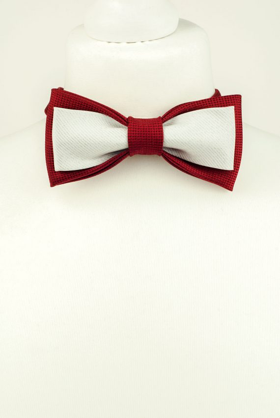 Glitzy Double Bow Tie