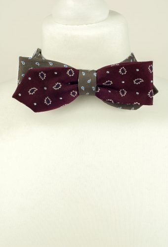 Stylised Paisley Bow Tie