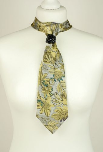Leaf Print Necktie