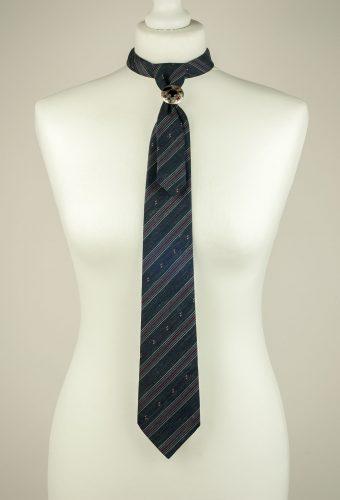 Striped Grey Gents Necktie