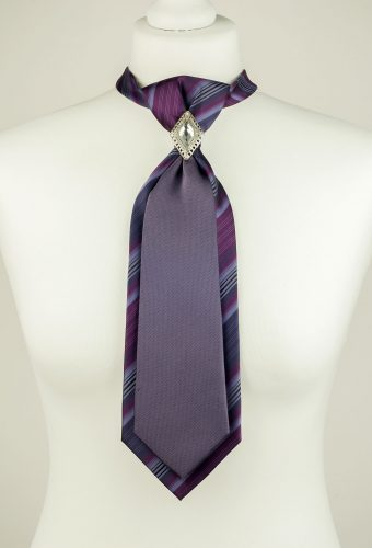 Purple Double Necktie