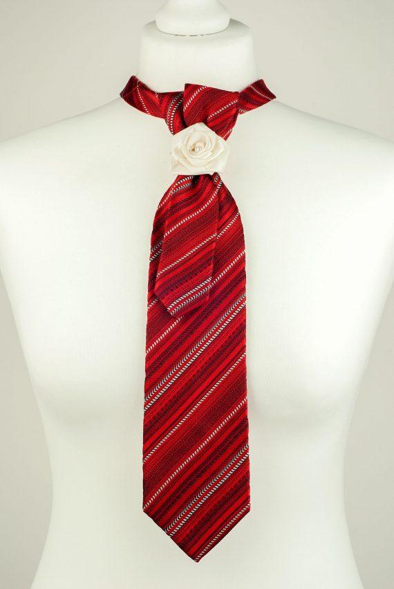 Pure Silk Red Necktie
