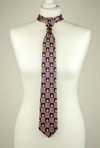 Sailing Boat Necktie