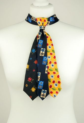 Playful Multicoloured Necktie