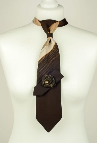 Chocolate Brown Colour Necktie