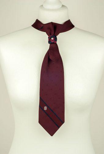 Burgundy Necktie