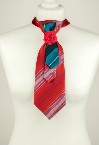 Raspberry Red Necktie