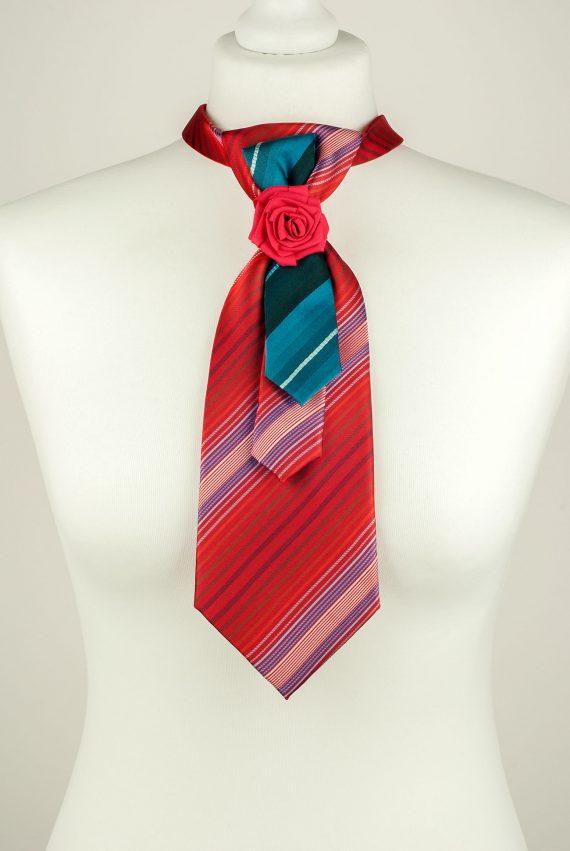 Raspberry Red Necktie