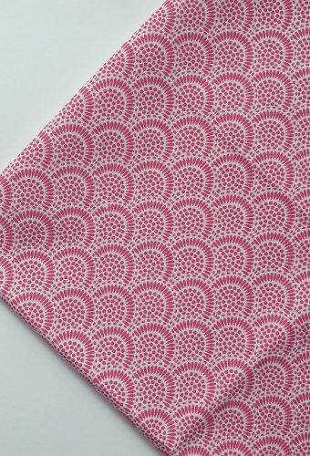Pink Colour Intricate Print