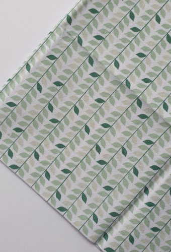 Tiny Green Leaves Print