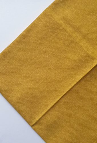 Mustard Colour Cotton Fabric