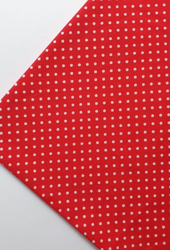 Red Polka Dot Print