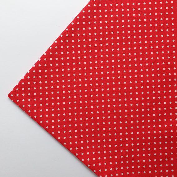 Red Polka Dot Print