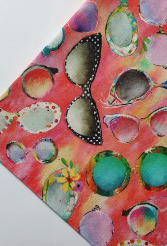 Fancy Sunglasses Print