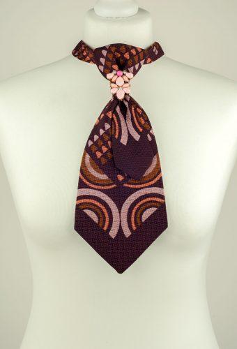 70s Style Pattern Necktie