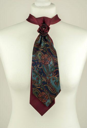 Paisley Pattern Double Necktie