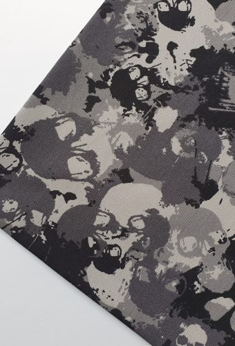 Abstract Skull Print