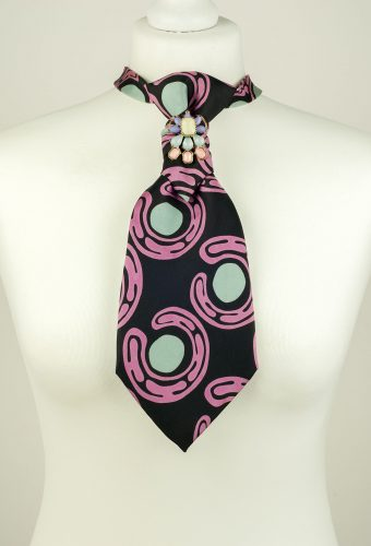 Abstract Print Necktie