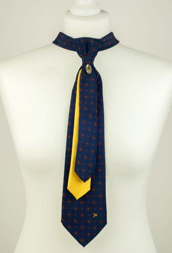 Pure Silk Triple Necktie