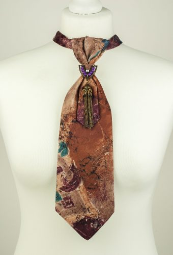 Painterly Pattern Necktie