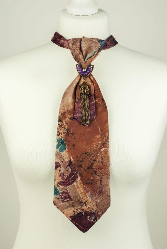 Painterly Pattern Necktie