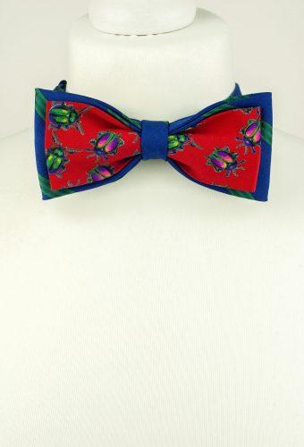 Bug Print Bow Tie
