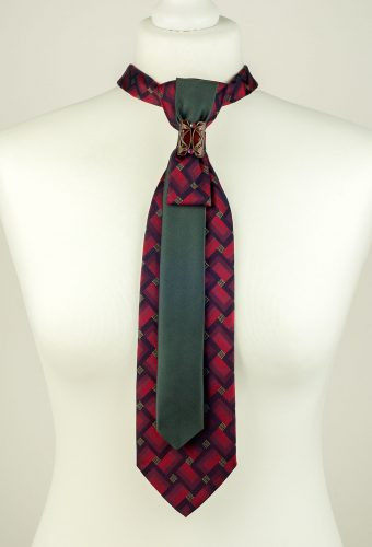 Burgundy Colour Elegant Necktie