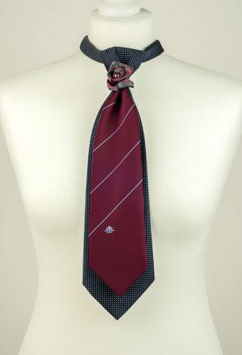 Stylish Double Necktie