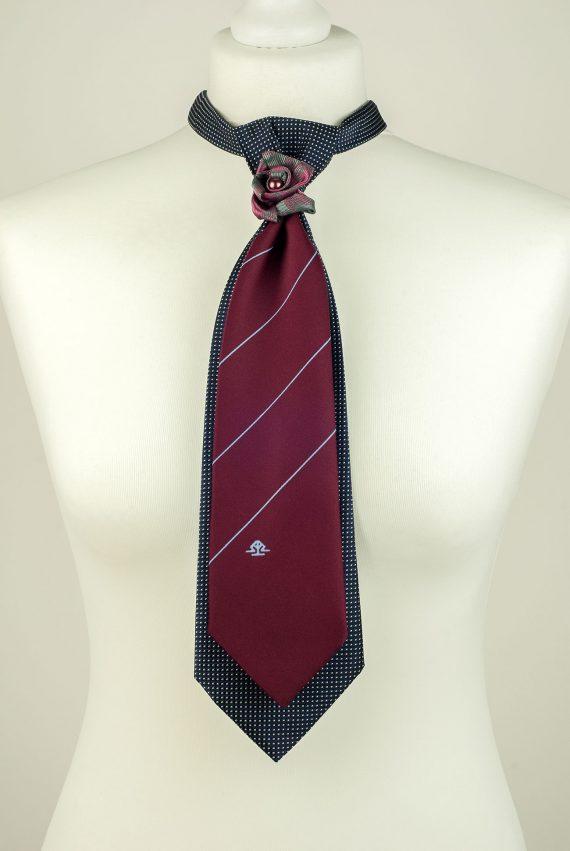 Stylish Double Necktie