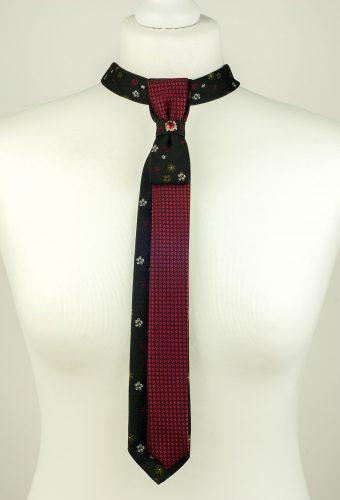 Skinny Floral Necktie