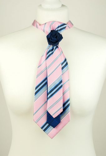 Striped Pink Colour Necktie
