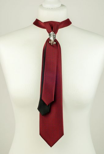 Burgundy Colour Skinny Necktie