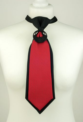 Red and Black Colour Necktie