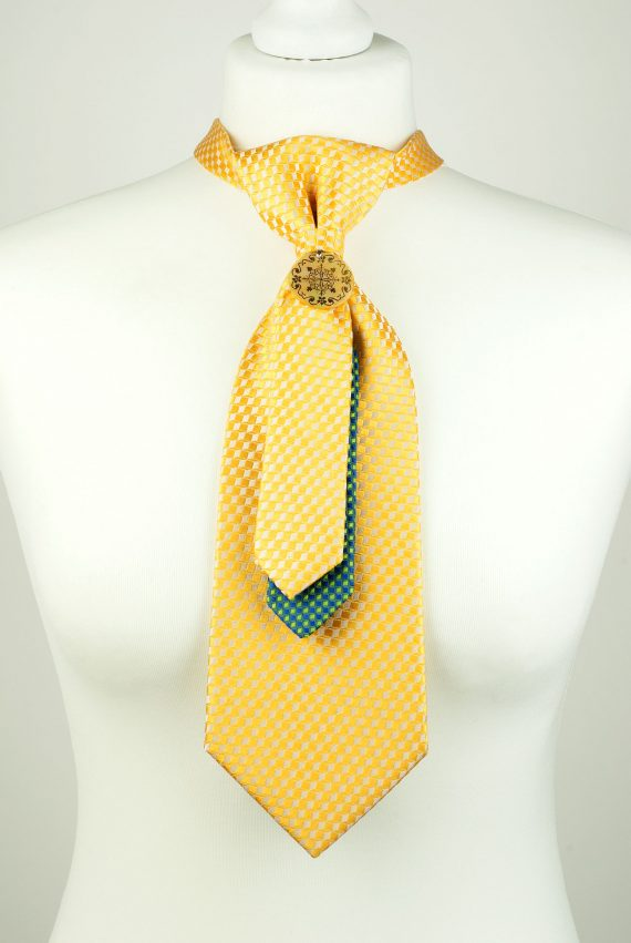 Yellow Colour Necktie