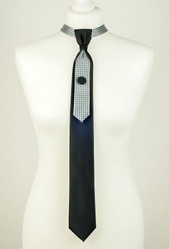 Elegant Black Colour Necktie