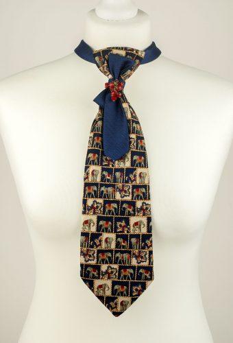 Elephant Print Necktie