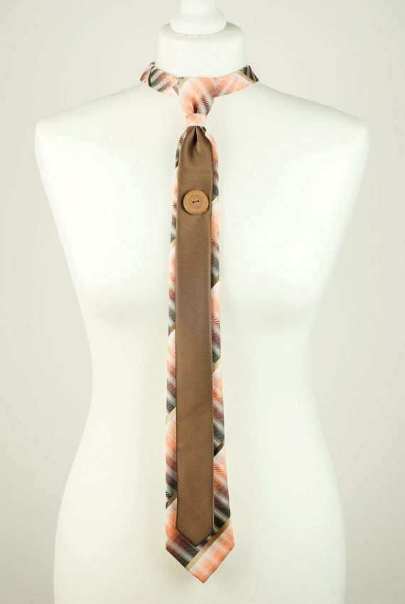 Orange Cocoa Colour Necktie
