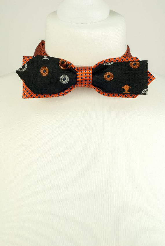 Playful Double Bow Tie