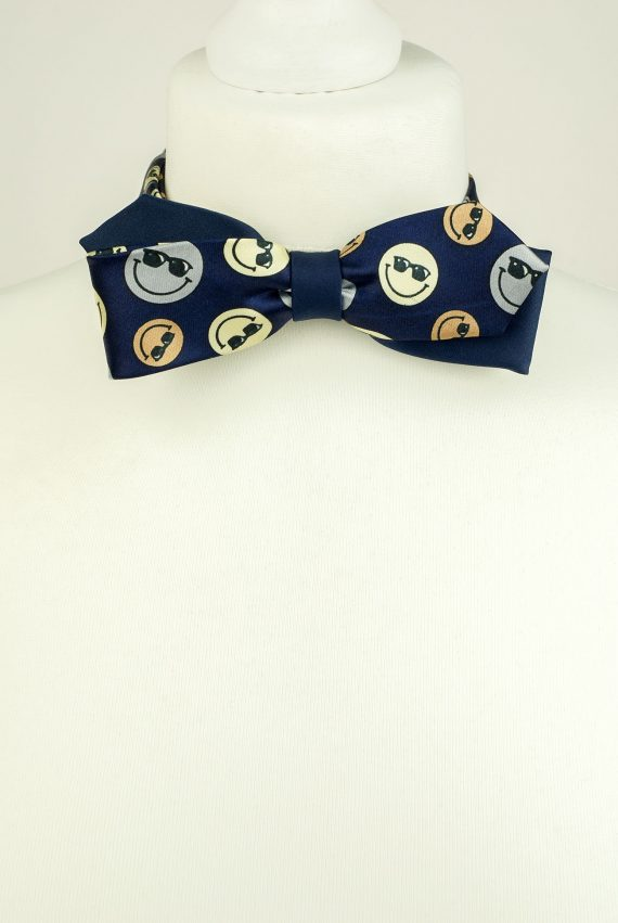 Smiley Faces Bow Tie
