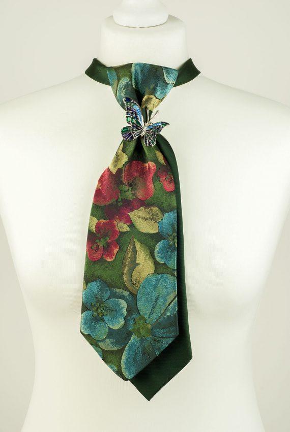 Floral Theme Necktie