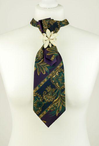 Sarasa Flower Necktie